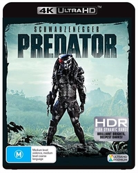 Predator on UHD Blu-ray
