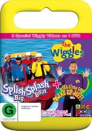 The Wiggles - Splish Splash Big Red Boat / Wake Up Jeff on DVD image