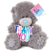 Me To You: Tatty Teddy Bear - Thank You Plaque