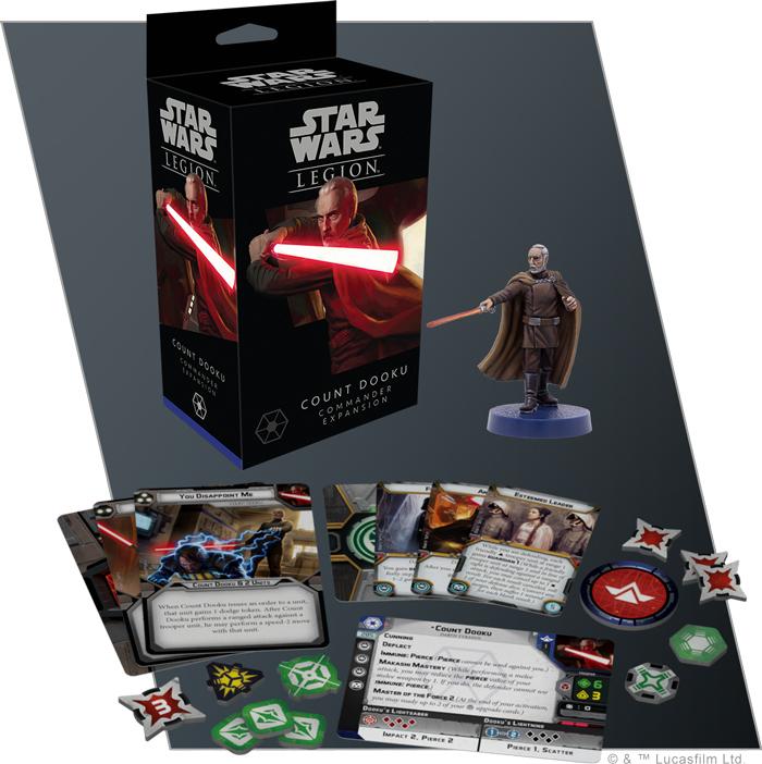 Star Wars Legion: Count Dooku Commander Expansion image