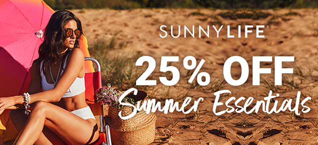 25% off Sunnylife Summer Essentials!