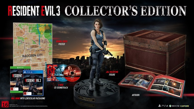 Resident Evil 3 Collector's Edition for Xbox One