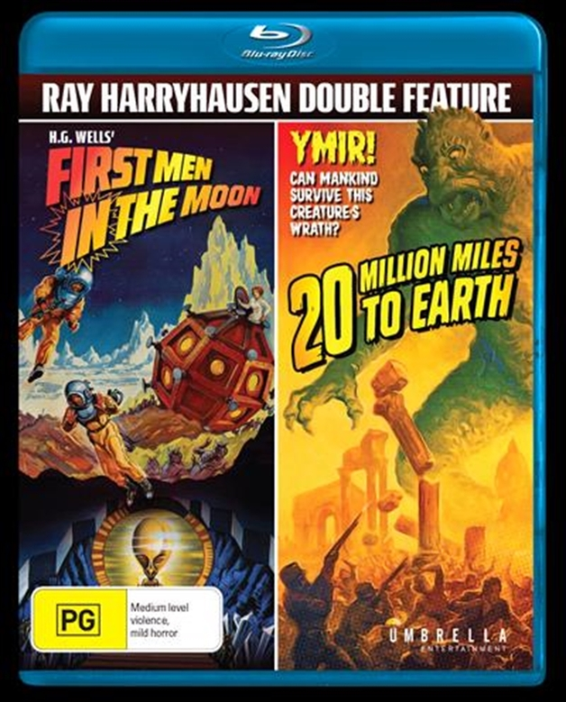 First Men In The Moon + 20 Million Miles To Earth on Blu-ray