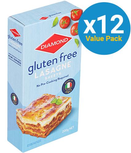 Diamond: Gluten Free Lasagne (200g x 12)