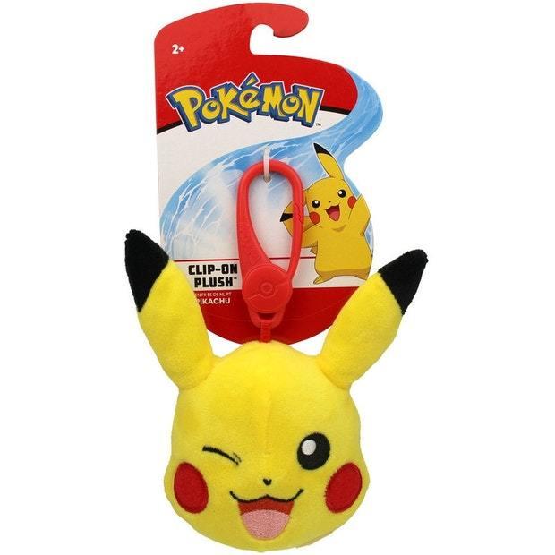 Pokemon: Clip-On Plush - Pikachu Head
