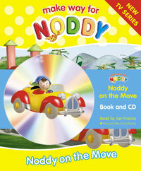 Noddy on the Move: Complete & Unabridged by Enid Blyton image