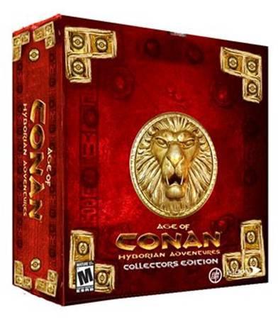 Age of Conan Hyborian Adventures Collector's Edition (U.S. Version) for PC Games
