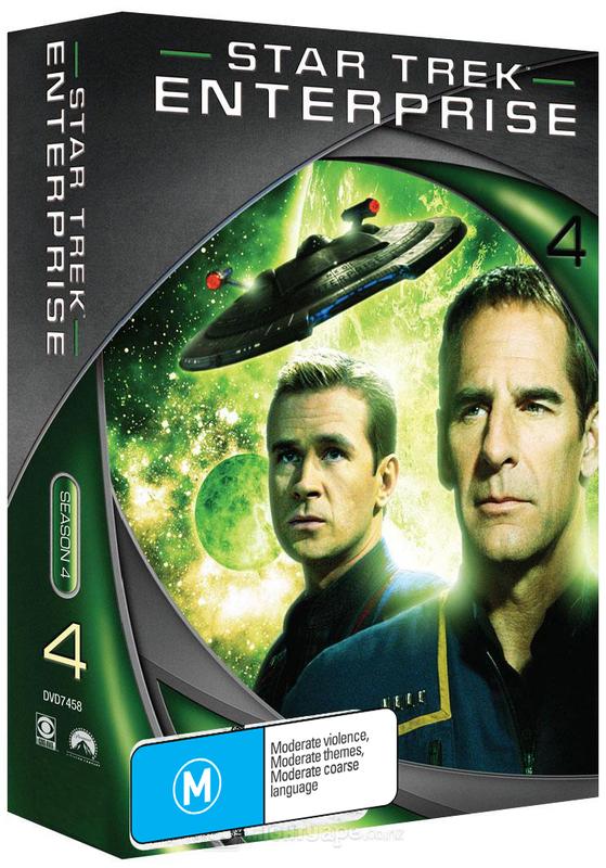 Star Trek: Enterprise - Season 4 (New Packaging) on DVD