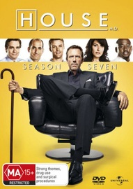 House, M.D. - Season 7 (6 Disc Set) on DVD