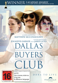 Dallas Buyers Club on DVD