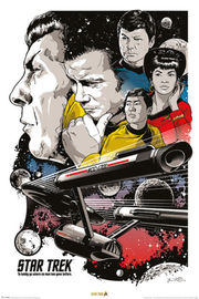 Star Trek 50th: Maxi Poster - To Boldly Go (477)