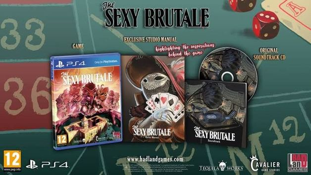 The Sexy Brutale: Full House Edition for PS4