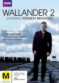 Wallander - Series 2 (2 Disc Set) on DVD
