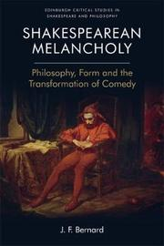 Shakespearean Melancholy by J.F. Bernard