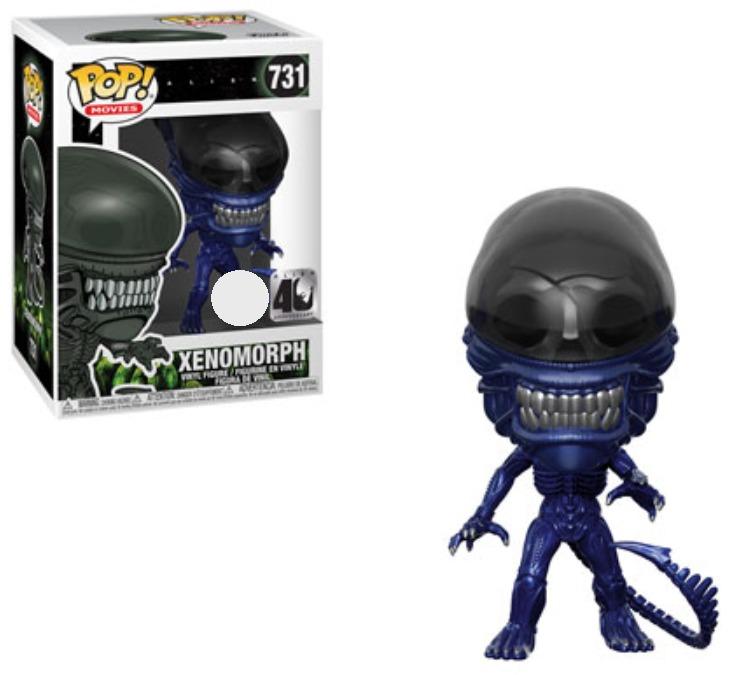 Alien: Xenomorph (Blue Metallic) - Pop! Vinyl Figure image