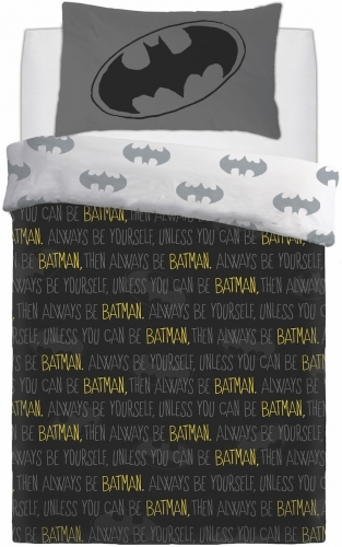 DC Comics: Reversible Duvet Cover Bedding Set - Batman Forever (Single)