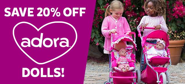 20% off Adora!