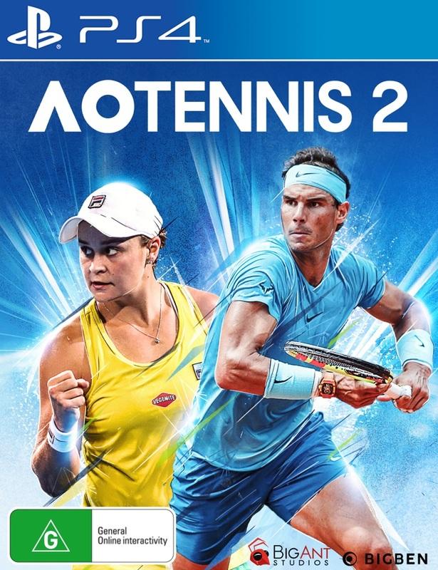 AO Tennis 2 for PS4