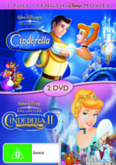 Cinderella / Cinderella II: Dreams Come True (2 Disc Set) on DVD