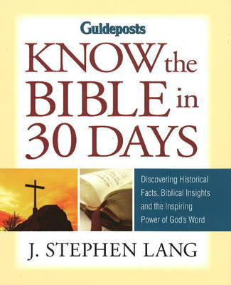 Know the Bible in 30 Days by J.Stephen Lang image