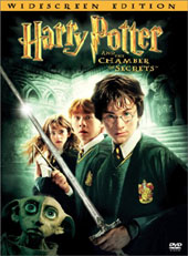 Harry Potter and the Chamber of Secrets on DVD