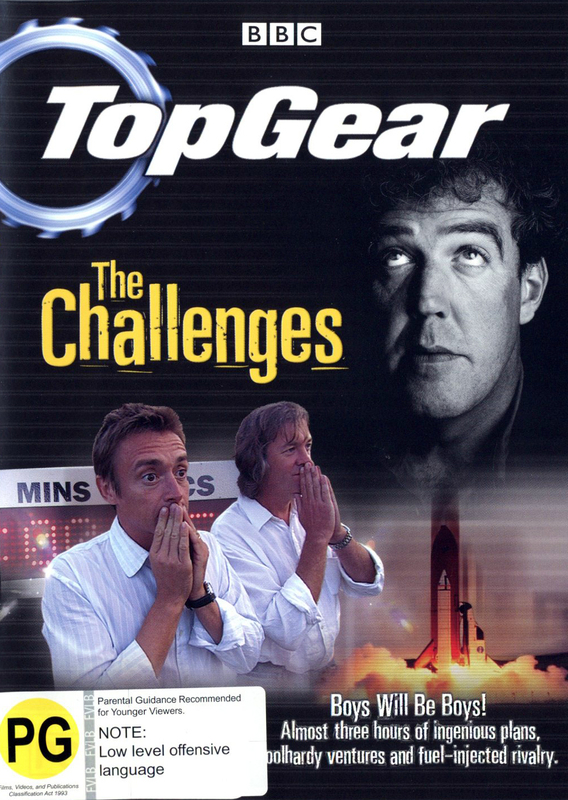 Top Gear - The Challenges on DVD