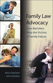 Family Law Advocacy by Mavis Maclean image