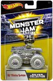 Hot Wheels: 1:64 Monster Jam Anniversary Vehicle (Chrome El Toro Loco)