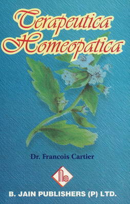 Terapeutica Homeopatica by Francois Cartier