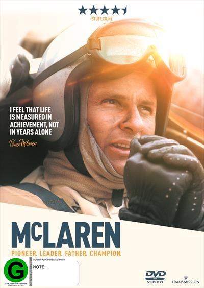 McLaren on DVD image