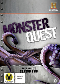Monster Quest - The Complete Season 2 (5 Disc Set) on DVD