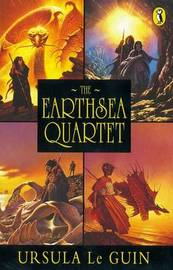 "The Earthsea Quartet: ""A Wizard Of Earthsea""; ""The Tombs of Atuan""; ""The Farthest Shore""; ""Tehanu"" by Ursula K. Le Guin image"