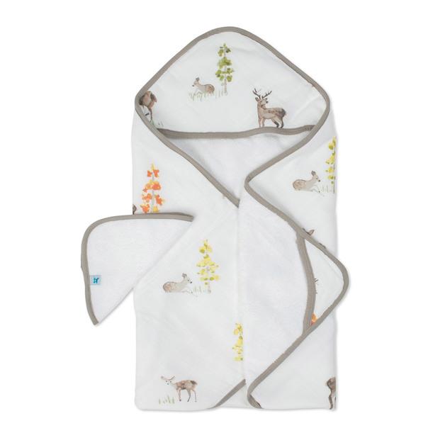 Little Unicorn - Hooded Towel & Wash Cloth - Oh Deer