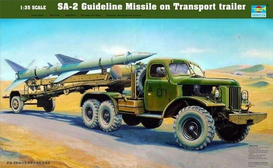 Trumpeter: Surface To Air Missile 2018 - 1/35 Scale Model Kit