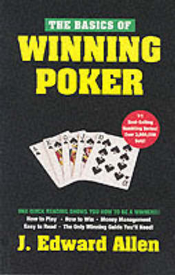 The Basics of Winning Poker by J.Edward Allen image