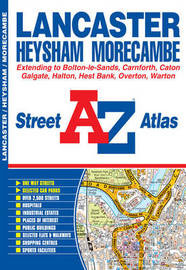 Lancaster Street Atlas by Geographers A-Z Map Company