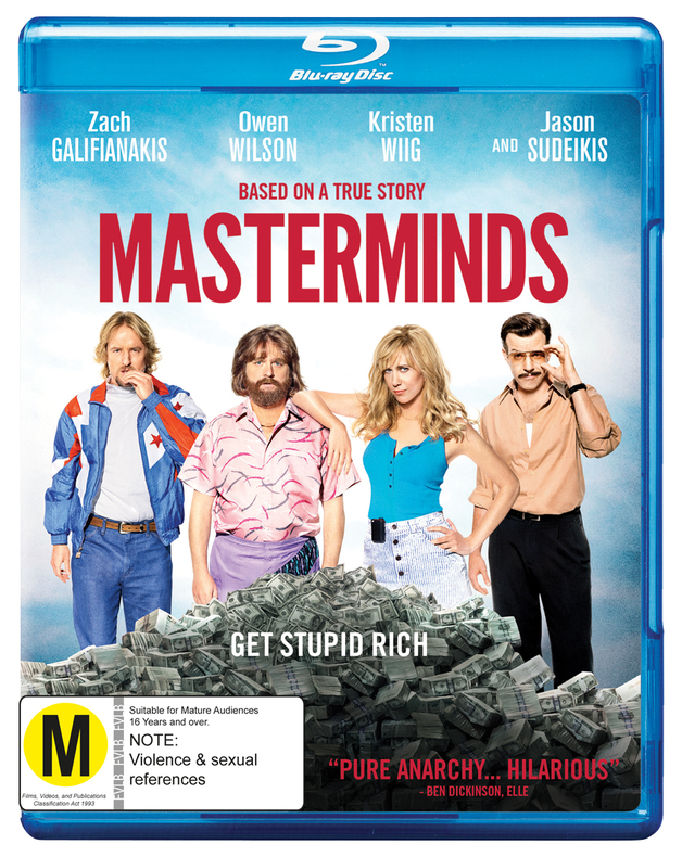 Masterminds on Blu-ray