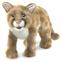 Folkmanis Hand Puppet - Mountain Lion Cub