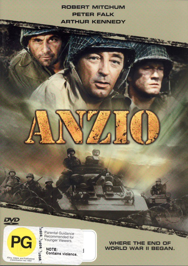 Anzio on DVD image