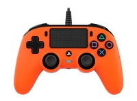 Nacon PS4 Wired Gaming Controller - Orange for PS4