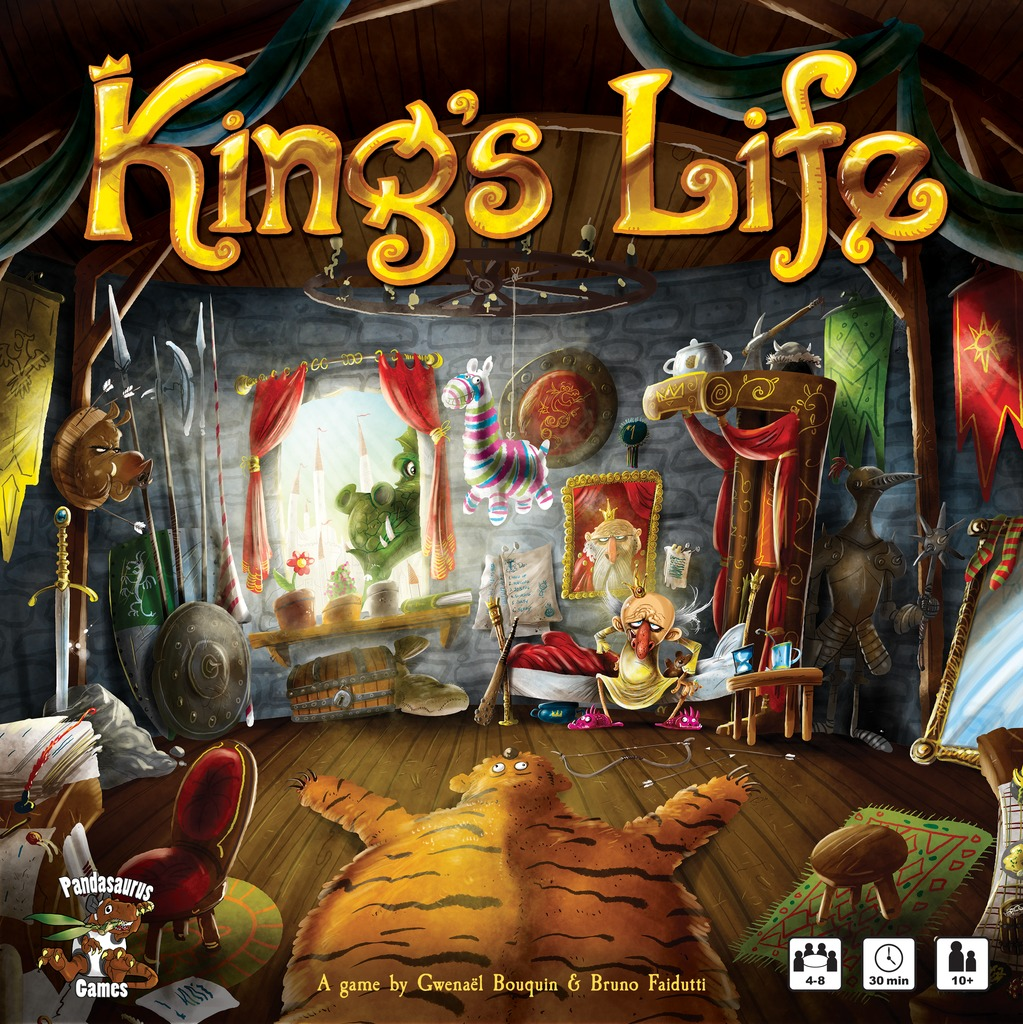 King's Life - Board Game image