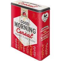 Nostalgic Art: Storage Tin - Good Morning Cereal (XL)