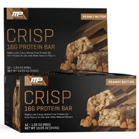 MusclePharm Combat Crisp Bar - Peanut Butter (12x45g)