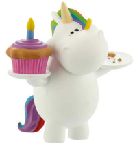 Bullyland: Chubby Unicorn Figure - Birthday-Chubby