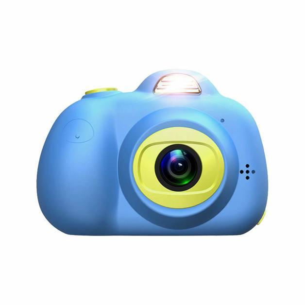 Cute Kids Digital Camera HD 720P - Blue