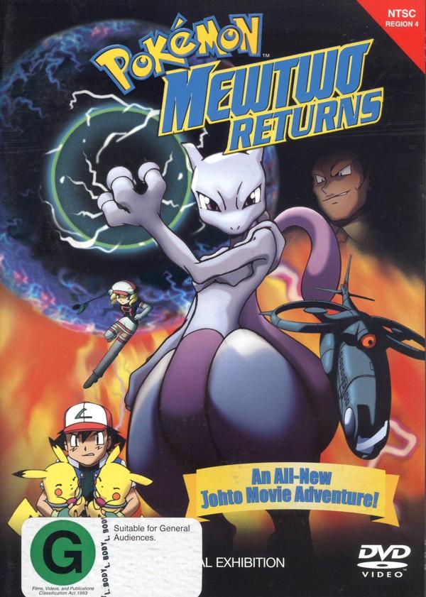 Pokemon: Mewtwo Returns (NTSC) on DVD image