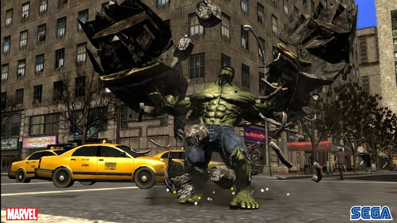 The Incredible Hulk for Xbox 360 image