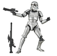 """Star Wars The Black Series: Stormtrooper (Carbonized) - 6"""" Action Figure"""