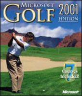 Microsoft Golf 2001 Edition for PC Games