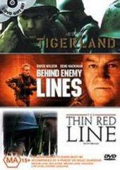 Tigerland / Behind Enemy Lines / Thin Red Line (3 Disc Set) on DVD